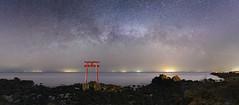 3212 (Keiichi T) Tags: sky 空 天の川 milkyway 6d sea 海 night shadow eos 光 canon 日本 影 水 夜空 星 star japan 夜景 light water 夜
