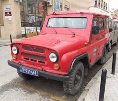 1987 UAZ 469 Firefighter (FromKG) Tags: uaz 469 firefighter red suv car kragujevac serbia 2019