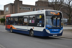 Stagecoach AD Enviro 200 36170 KX60DTO - Nuneaton (dwb transport photos) Tags: staecoach alexander dennis enviro bus 36170 kx60dto nuneaton