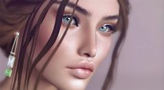 Sapphire (VeraCruza) Tags: lelutka glamaffair kustom9 skinfair2019 applier skin rama ysoral jewel arte secondlife head bento virtual game world portrait