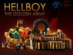 LEGO HELLBOY: The Golden Army - Main image (bradders1999) Tags: lego legodigitaldesigner ldd legomoc legocreation legohellboy legohellboythegoldenarmy hellboy2 hellboyii hellboyiithegoldenarmy hellboy2thegoldenarmy legohellboy2 legohellboyii hellboy2019 hellboyremake hellboyreboot hellboymovie hellboy3 hellboycomic hellboycomics dccomics marvelcomics superhero legomarvelsuperheroes legodcsuperheroes legomarvel legodc legodccomics legoavengers legoinfinitywar legoendgame legoavengersendgame legoleak2019 legoleak2020 legosummersets legowintersets legospringsets avengersendgame endgameleak legobatman legobatman2019 legobatman2020 legosuperheroes2020 legosuperheroes2019 lizsherman abesapien johannkraus johannkrauss princessnuala nuala princenuada nuada hellboyabe guillermodeltoro mikemignola deltoro mignola legocustom legocustomminifigure legominifigure legominifigures legodisneyminifigures legodisney legopuristcustoms legopearlgold bricklink instructions steampunk legoideas legoideasproject