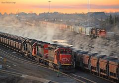 Nice Set (Missabe Road) Tags: ic cn 6261 6253 6260 212 215 proctor sunrise steam
