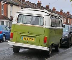 TLW 271R (Nivek.Old.Gold) Tags: 1977 volkswagen devon camper 1584cc deliveryvan latebay