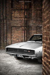 silver 1968 Dodge Charger R/T - Shot 1 (Dejan Marinkovic Photography) Tags: 1968 dodge charger mopar muscle car american silver