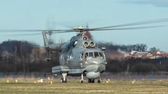 Mi-14PŁ (kamil_olszowy) Tags: mil mi14pł mi14pl epda darłowo grupa lotnicza brygada lotnictwa marynarki wojennej marynarka wojenna szarakal 1008 haze polish navy aviation ми14пл