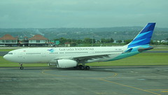 PK-GPP (GSairpics) Tags: pkgpp airbus airbusa330 a330 a332 garuda garudaindonesia garudaindonesiaairways aircraft aeroplane airplane aviation transport travel jet jetliner airline airliner airport dps wadd denpasarairport bali indonesia
