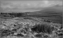 A chill wind at Ribblehead (jbg06003) Tags: class66 freight gbrf stone sc settlecarlisle