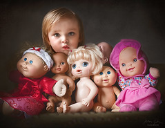 Baby Dolls ({jessica drossin}) Tags: jessicadrossin child baby toddler dolls face faces eyes wwwjessicadrossincom pink toys