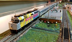 VIA 6416 (Trains By Perry) Tags: hoscale ho hotrak feb2019 setup via viarailcanada canada150 6416