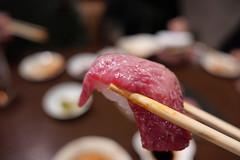 トモサンカクの肉寿司 (HAMACHI!) Tags: tokyo 2019 japan food foodporn foodie foodmacro meat beef 肉山 nikuyama kichijoji restaurant diningrestaurant lumix lumixdclx100m2 dclx100m2 肉寿司 beefsushi