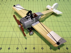 Table Scrap Build (Dread Pirate Wesley) Tags: lego moc aircraft wwi ww1 great war world airplane plane