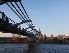 Millennium Bridge (Matt C68) Tags: london city bridge river thames riverthames stpauls cathedral millennium millenniumbridge panasonic lumix gx80 olympus 918mm