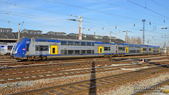 Z 24555/56 (328), Amiens - 06/03/2015 (Thierry Martel) Tags: z24500 amiens automotrice sncf