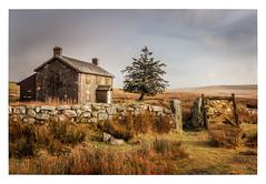 Nun's Cross Farm (Rich Walker Photography) Tags: dartmoor devon landscape landscapes landscapephotography farm farmhouse old derelict abandoned sky morning cloud canon england efs1585mmisusm eos eos80d