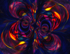energized... (Mark Noack) Tags: light color photoshop layer layering surreal expressionism abstract psychedelic futurist abstraction awardtree shockofthenew
