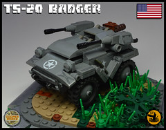 TS_20_BADGER_01 (Cooper Works 70) Tags: lego ww2 wwii custom stickers military cooper works