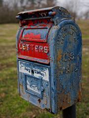 Week 9 - Old Mailbox (J McCallister) Tags: cordova tn mailbox vintage tennessee