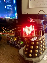 Geeky Love (Daniel Dyer) Tags: dalek dr who drwho heart raspberry pi arduino electronics project computer