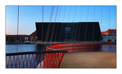 Black Diamond (Jean-Louis DUMAS) Tags: danemark sky ciel hdr architecturale architectural structure sunset abstraction abstract architect architecture copenhague trip travel voyage