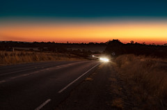 Dazzle (dmunro100) Tags: sunset car light road barossa southaustralia