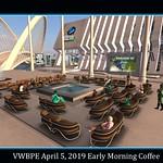 Coffee The Morning of April 5th at VWBPE 29019 thumbnail