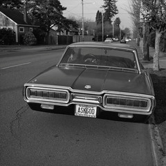 Portland (austin granger) Tags: portland oregon thunderbird god marines evidence street sidewalk vintage religion film square gf670