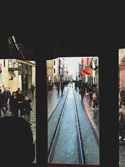 Good 'ol tram (Ketan Pandit) Tags: culture asia travel shoots photography iphone architecture history canon europe turkey istanbul cats palace sultan bosporous tourist pandits istiklal