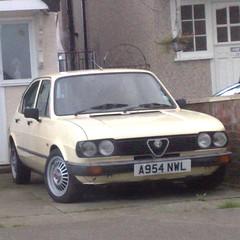 -<>- (uk_senator) Tags: 1984 alfa romeo alfasud beige