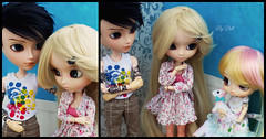 Uma ova!! - (2/2) (♪Bell♫) Tags: romantic alice pink pullip groove doll byul pollon taeyang william