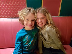The Kids At Dinner (Joe Shlabotnik) Tags: disneylandparis eurodisney paris cameraphone april2018 france disney everett galaxys9 2018 disneyland violet