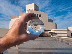 Museum of Islamic Art - Doha, Qatar (fisherbray) Tags: fisherbray qatar stateofqatar دولةقطر dawlatqatar addawhah addawha addōḥa doha الدوحة nikon d5000 lensball museumofislamicart متحفالفنالإسلامي museum mia