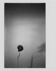 Propaganda (Italian Film Photography) Tags: instant monochrome instax fujifilm blackandwhite blackwhite biancoenero monocromo istantanea minimal minimale minimalist lamp lampada abstract astratto film analogue pellicola silver analogica traditional shadows ombre