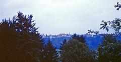 Burghausen Castle (zeesstof) Tags: 1969 35mmslidefilm burghausen burghausencastle germany kodachrome mamiya film geo:lat=4815985527 geo:lon=1282022650 geotagged summerholiday worldslongestcastle zeesstofsmom