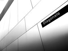 Diagonale (KnutAusKassel) Tags: bw blackandwhite blackwhite nb noirblanc monochrome black white schwarz weiss blanc noire blanco negro schwarzweiss diagonale