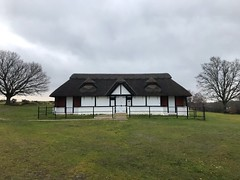 Thatched Cricket Pavilion (Marc Sayce) Tags: thatched cricket pavilion ashurst club boltons bench lyndhurst hampshire new forest national park winter january 2019 notrealtags bikini speedo topless naked nude milf