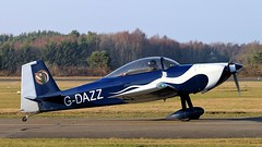 G-DAZZ VANS RV-8 (BIKEPILOT, Thx for + 5,000,000 views) Tags: gdazz vans rv8 aircraft aeroplane aviation airport aerodrome airfield blackbushe eglk hampshire uk england britain ga blue white