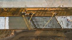 South Mountain Freeway - Salt River Bridges January 2019 (Arizona Department of Transportation) Tags: smf saltriverbridges construction 2019 bridges deckpour c202p freewayconstruction arizona highways concrete laveen az usa ususa840