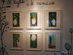 Au fil de l'eau (bpmm) Tags: colysée lambersart art expo nord exposition lucievandevelde dessin peinture illustration