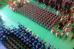 Black Falcons Castle Expo Brick Mania Seneffe 2017 (Ced72) Tags: blackfalcons black falcons castle fortress layout battle town lion knights seneffe 2017 lego old army