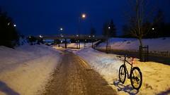 2019 Bike 180: Day 30, February 15 (olmofin) Tags: 2019bike180 finland bicycle polkupyörä espoo luix 14mm f25