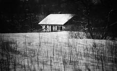 ... (proffkom_) Tags: retro analogue vintage bw meyeroptik pentacon 13528 ukraine old house abandoned past