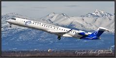 B-3297 China Express Airlines (Bob Garrard) Tags: b3297 china express airlines bombardier crj900 anc panc