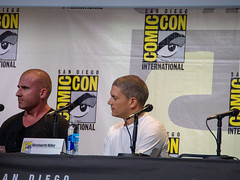 Wentworth Miller & Dominic Purcell Comic Con 16a (jfer21) Tags: comiccon16 wentworthmiller dominicpurcell prisonbreak legendsoftomorrow theflash olympusem5