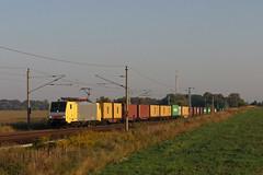 Dispolok ES 64 F4 - 094 (Leihlok für die DB) + 55087 Salzwedel Gbf - Großbeeren - Kartzow (Rene_Potsdam) Tags: dispolok br189 railroad kartzow treinen trains züge europa europe deutschland brandenburg