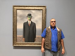 Magritte's Fifth Season (fabola) Tags: fabriceflorin art creativity fabrice magritte modern museum paint phyllis sanfrancisco sfmoma