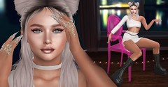 Night night (Dan Gericault Lol and XD 4Evah) Tags: secondlife sl slfashion senihaoriginals enchante shoes egozy egozystore egozyskin livia makeupappliers akerukaak akerukadeluxe zephyr bento nails rings