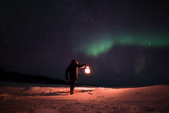 L'astronauta (Giacomo Miraldi) Tags: nothernlights veskoniemi finlandia auroraboreale colori
