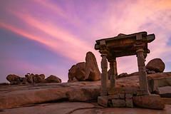 Sunset at Hemakunta Hill, Hampi (James Adaickalasamy) Tags: hampi india karnataka unesco worldheritagesite sunset architecture ruins historic tranquil