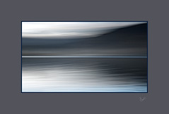 Between the Lines (After-the-Rain) Tags: lakedistrict keswick borrowdale lakedistrictnationalpark worldheritagesite dewentwater movement water icm intentionalcameramovement ©joanthirlaway mist december winter blur tranquil peaceful scenery nikond7500 tamron16300mm leefilter ripples wash blue lake