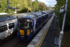 Scotrail 385103 (Will Swain) Tags: glasgow station 22nd september 2018 queen street polmont scotland train trains rail railway railways transport travel uk britain vehicle vehicles scottish north europe scotrail 385103 class 385 103